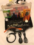 PAT Tester''s Ultimate Toolbox Kit, Adapters, Labels, Tools, Parts, Accessories